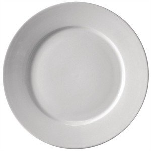 9 Quot White Plate For Hire The Catering Hire Company