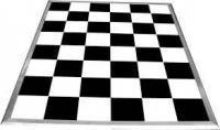 Black & White Dance Floor Hire Yorkshire